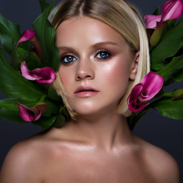 Portrait retouching photos